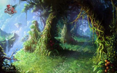 Forest by gypcg