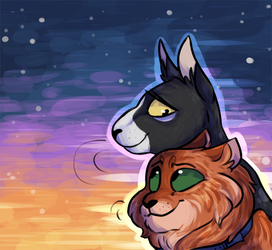 tallstar and jake by owlcoholik