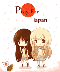 K-on: Pray for Japan by RinRinDaishi