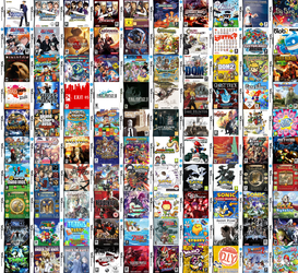 My Nintendo DS game collection by Angelic-Zinle