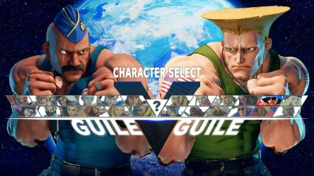 Byron Taylor x Guile C1 by robhal
