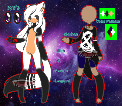 Lillith The Leopard Ref by xXKateWinchesterXx