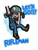 Rifleman by TinyToxicWaste101