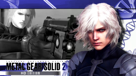 MGS2 HD Edition Wallpaper 02 by dpmm07