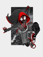 Miles Morales - Enter the Spider-Verse! by artofsvs