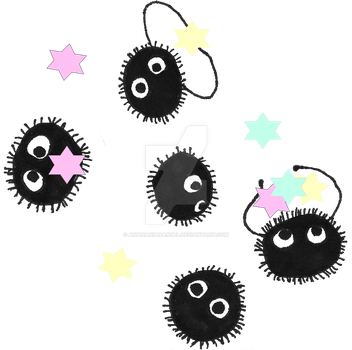 Soot Sprites Candy by amahakianangel