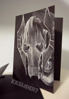 General Grievous Card by KKSlider7
