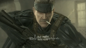 Metal Gear Solid 4 - Old Snake  (MrGameboy20XX) by zeushk