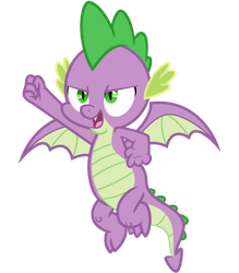 Super Spike, or Spike 2.0 by cheezedoodle96