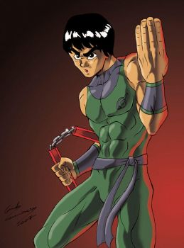 Rock 'Bruce' Lee by Guidotoon