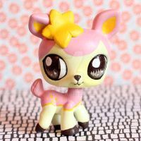 FOR SALE: Deerling inspired LPS custom by pia-chu