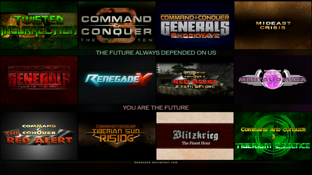 Command and Conquer - Mods by KaneNash