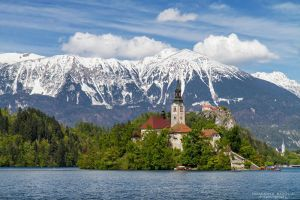 Bled Landscape by DominikaAniola