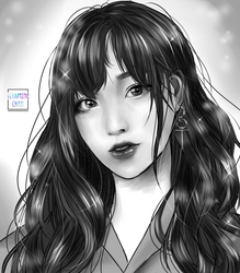 commission ] portrait by VitamineChan
