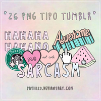 Pngs Tipo Tumblr by patii123