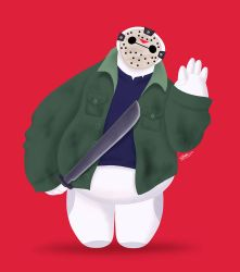 BAYMAX FRIDAY THE 13TH by GrievousGeneral