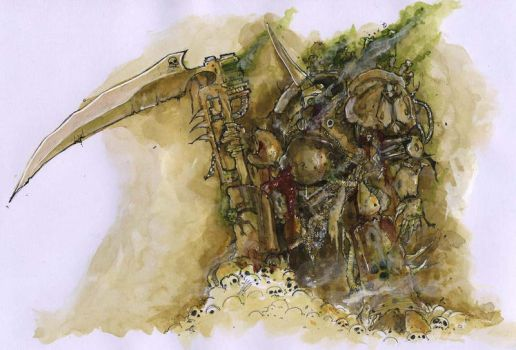 Typhus Herald of Nurgle by MetalPoison