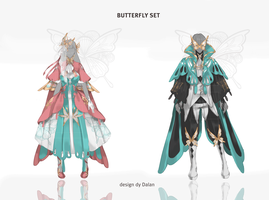 Auction : OUTFIT : BUTTERFLY [OPEN] by DalanPST