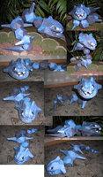 Steelix papercraft 2 by Weirda-s-M-art