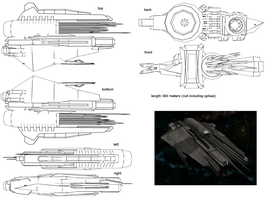 Battle Cruiser 2 by st0rmblade
