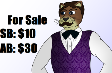 Mustached Otter for Sale! [Auction Open] by Vinomath