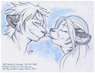 100 Sketch Challenge :: 83-84 by cybre