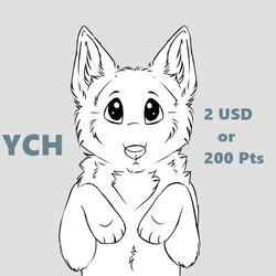 Cute YCH (points or paypal) by DestinyvonBull