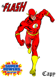 Super Powers - The Flash by ElCapy