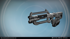 The Ripper: Exotic AR Concept by Infamous by DestinyWarlock