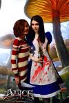 Me and Mad Alice :3 by LicamtaPictures