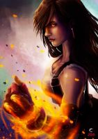 Dont mess with Tifa - Adrian Wolve by AdrianWolve