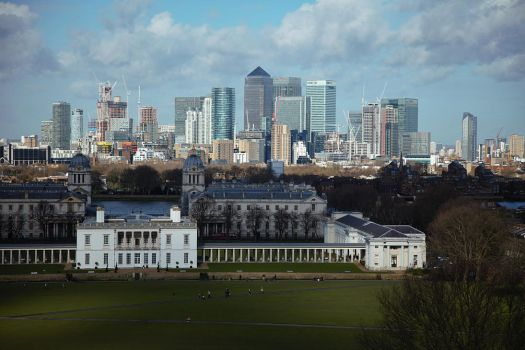 View from Greenwich Park by George---Kirk