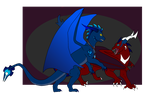 Frenemies (Contest Entry) by AbyssinalPhantom