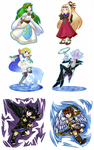KI Characters/Mario Art Style Project~ by RS-V22