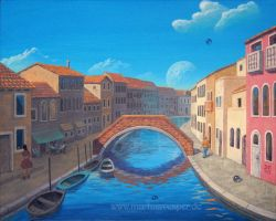 Venetian Dream by Acrylicdreams