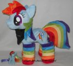 cute and awesome Rainbow Dash by calusariAC