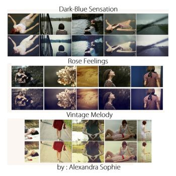 Selling 3 photoshop actions by AlexandraSophie