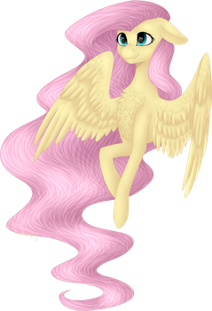Fanart ~ Fluttershy by Cat-tastrophy