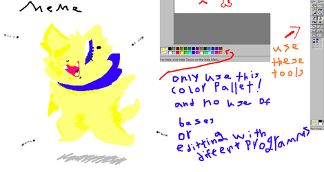 WINDOWS 98 MSPAINT(CHALLENGE)READ DESC) by swaggamer3333