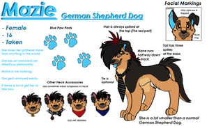 Updated Mazie Reference by ajsh3p