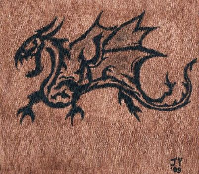 Dragon Tattoo by JasonYoungdale