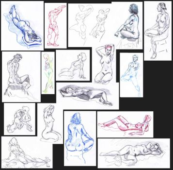 lifedrawing August2017 by AdrianNagorski