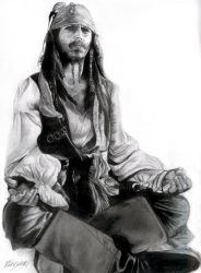 Captain Jack Sparrow FINISHED by drawclub