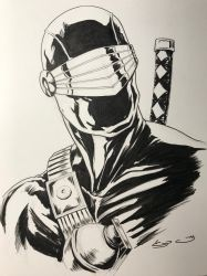 Snakeeyes bust  by shaotemp
