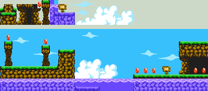8-bit land and water by Xeno-striker