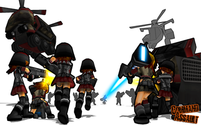 Command Assault Charge by DelphaDesign