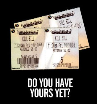 Kill Bill Tix by deaddays