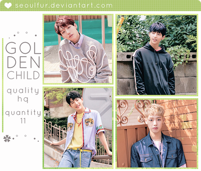 GOLDEN CHILD / PHOTOPACK by seoulfur by seoulfur