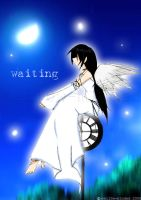 55. Waiting by mell0w-m1nded