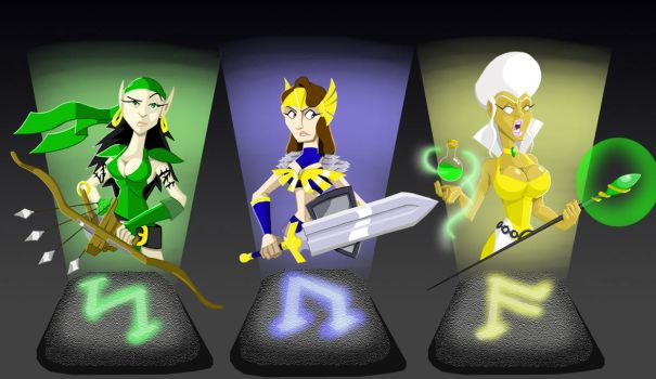 Gauntlet Gals by ChadRocco